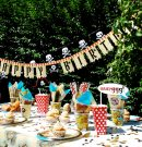 Skab en vaskeægte sørøverstemning til fødselsdagen