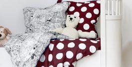 Den elskede Rasmus Klump er kommet på sengetøj
