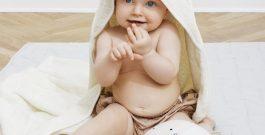 Super bløde baby håndklæder