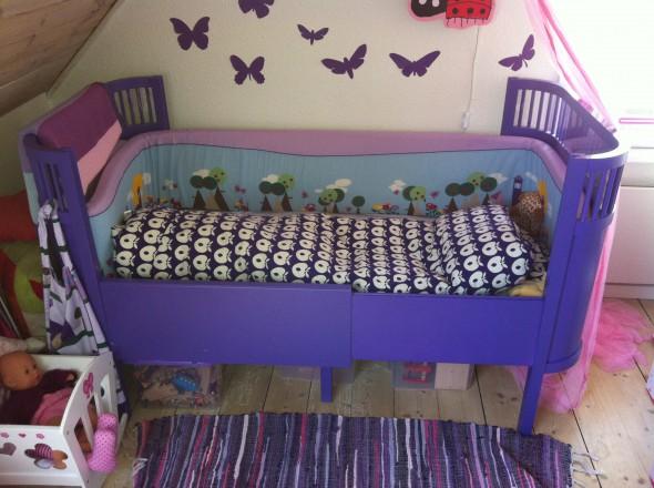 lilla sebra seng
