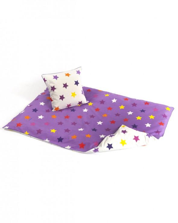 Smallstuff sengetøj med stjerner