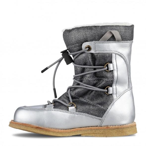 Sølv vinterstøvle fra Green Comfort